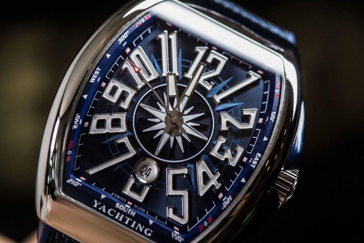 Review đồng hồ FM Vanguard Yachting V45 - đồng hồ Frank Muller V45 chính hãng tại Boss Luxury