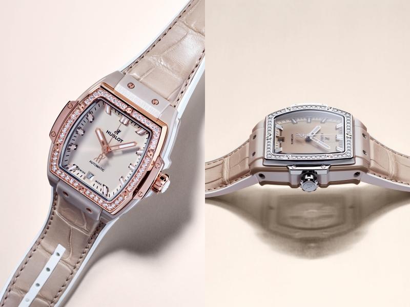 Đánh giá chi tiết đồng hồ Hublot Spirit of Big Bang Ceramic Beige
