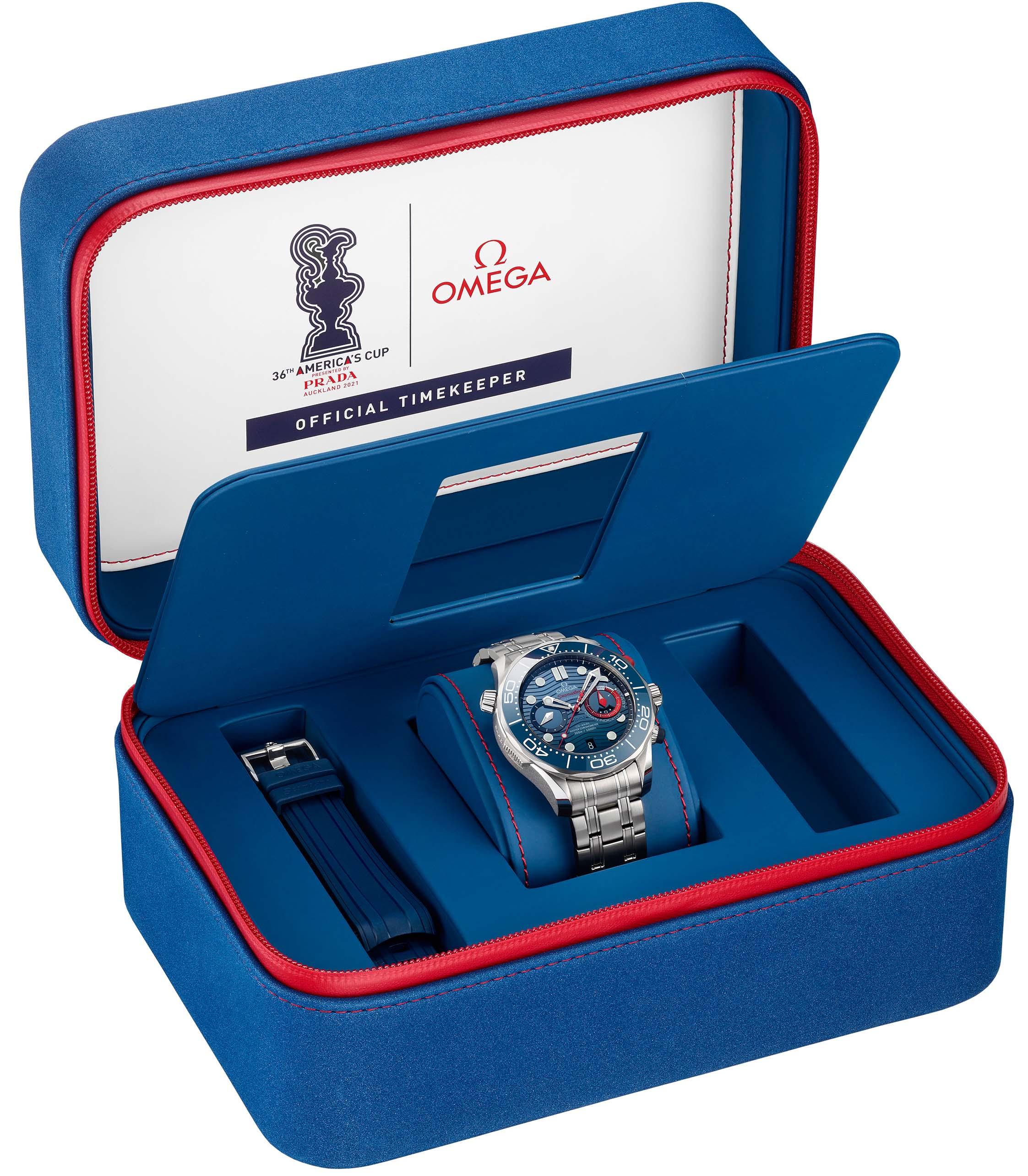 Đánh giá chi tiết đồng hồ Omega Seamaster Diver 300m America's Cup Chronograp