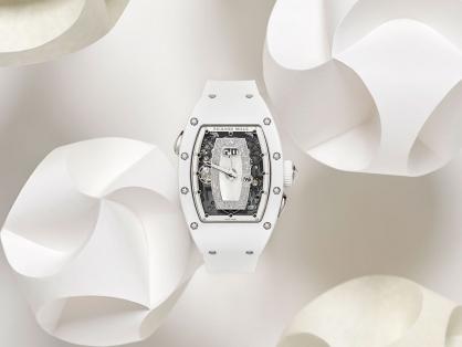 Giới thiệu đồng hồ Richard Mille RM 037 White Ceramic Automatic dành cho phái đẹp