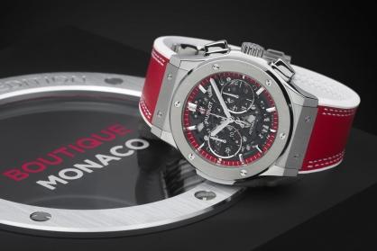 Hublot ra mắt phiên bản đặc biệt Classic Fusion Aerofusion Chronograph 'Boutique Monaco'