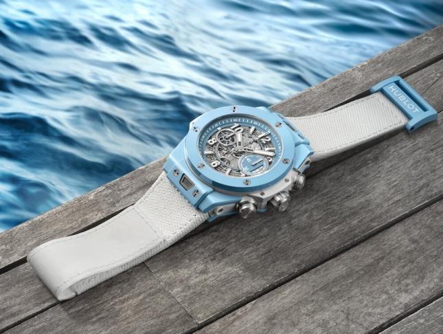 Review Hublot Big Bang Unico Sky Blue - Chiếc đồng hồ dành cho mùa hè 2020