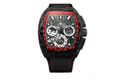 Giới thiệu đồng hồ Franck Muller Vanguard Skeleton Grande Date Chronograph