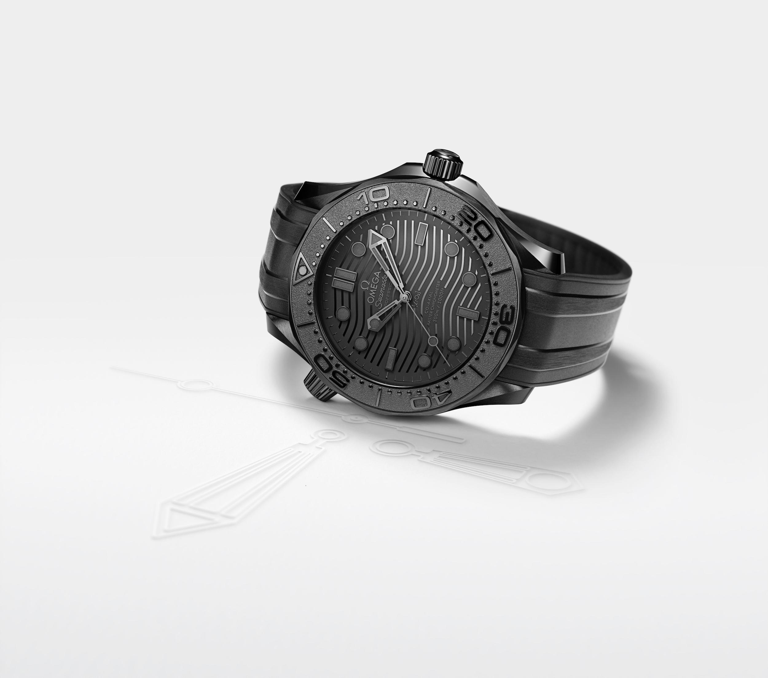 Đánh giá chi tiết đồng hồ Omega Seamaster Diver 300M Black Black