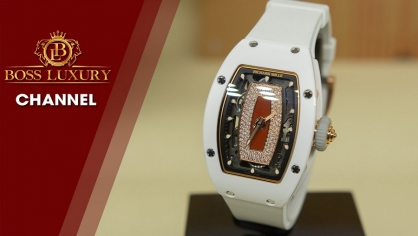Review đồng hồ Richard Mille RM 07-01 - Tuyệt sắc giai nhân của hãng đồng hồ siêu sang