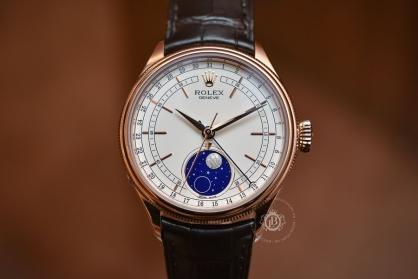 Review đồng hồ Rolex Cellini Moonphase: lịch tuần trăng hiếm, rất đẹp và thanh lịch