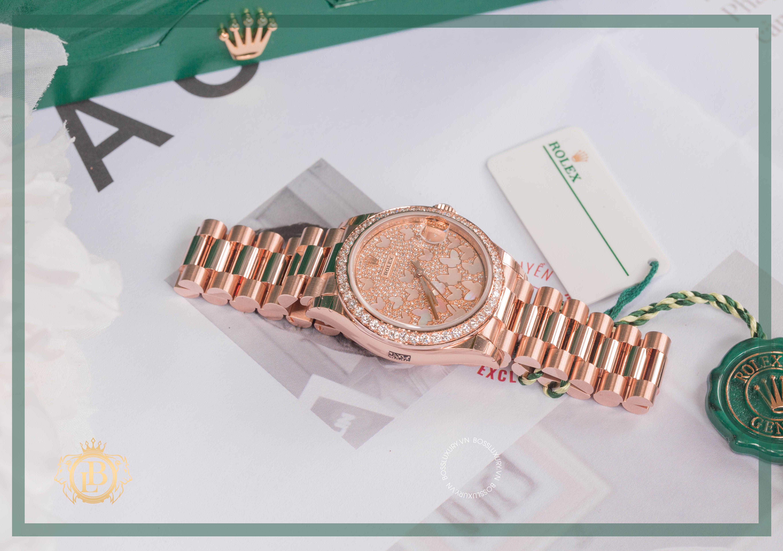 Review đồng hồ Rolex Lady DateJust 31mm Butterfly: Tôn vinh nét đẹp nữ tính