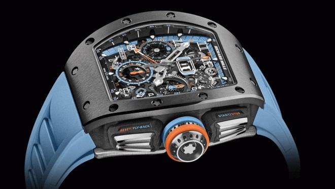 Review đồng hồ RM 11-05 Automatic Flyback Chronograph GMT với chất liệu hoàn toàn mới