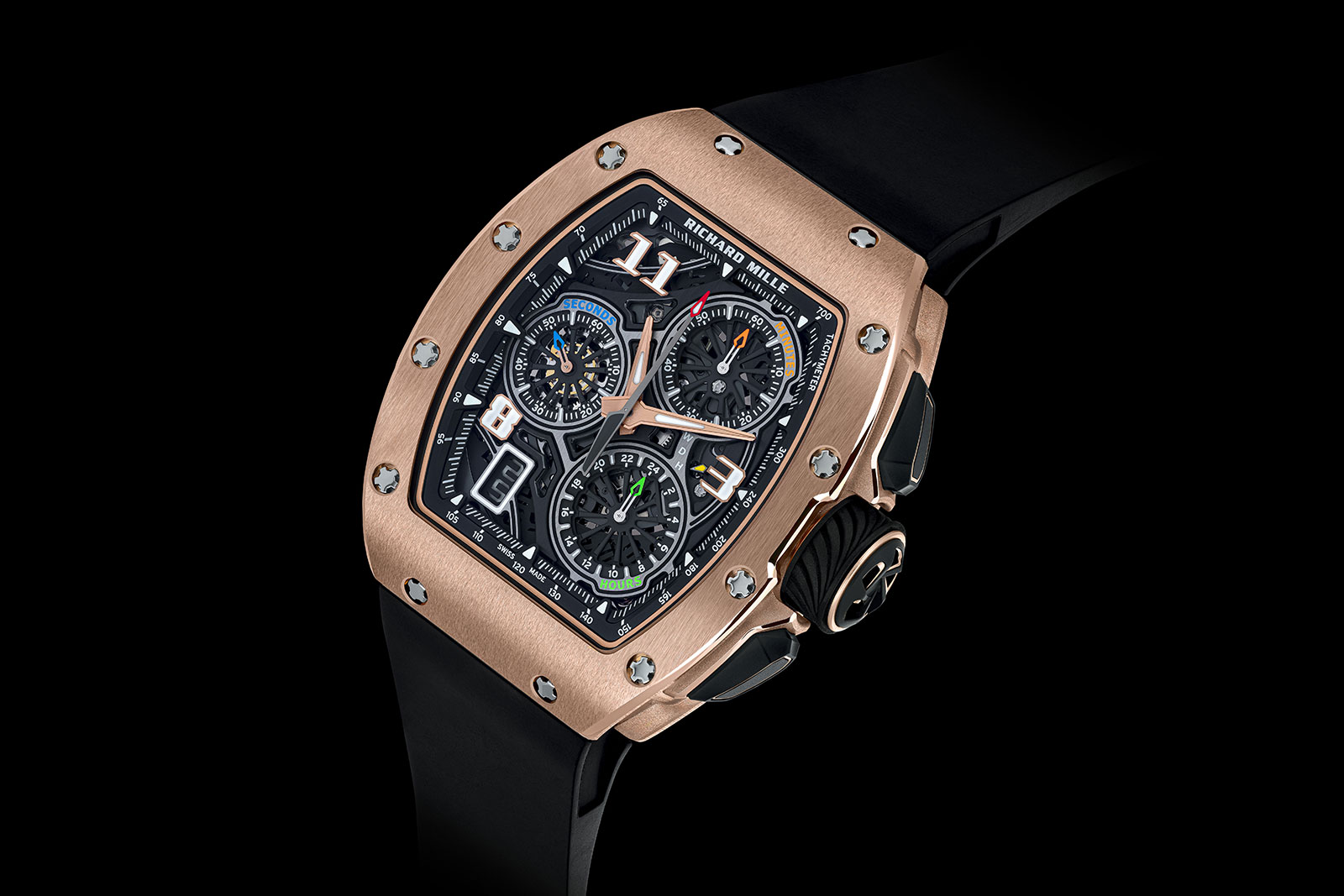 Giới thiệu chiếc đồng hồ RM72-01 Lifestyle In-House Chronograph