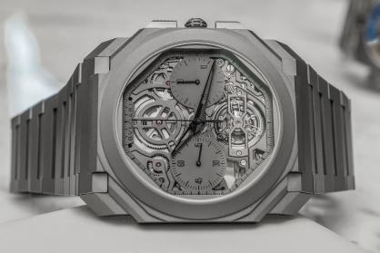 Review Bulgari Octo Finissimo Tourbillon Chronograph Skeleton Automatic - chiếc đồng hồ Tourbillon mỏng nhất thế giới