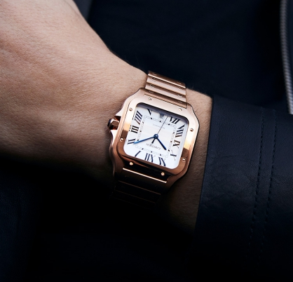 Giới thiệu đồng hồ Santos de Cartier - Giai điệu ngân vang trong giới đồng hồ cao cấp