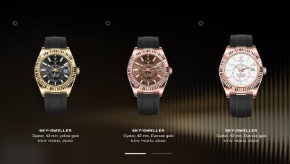 Rolex chính thức ra một loạt các mẫu đồng hồ mới cho năm 2020