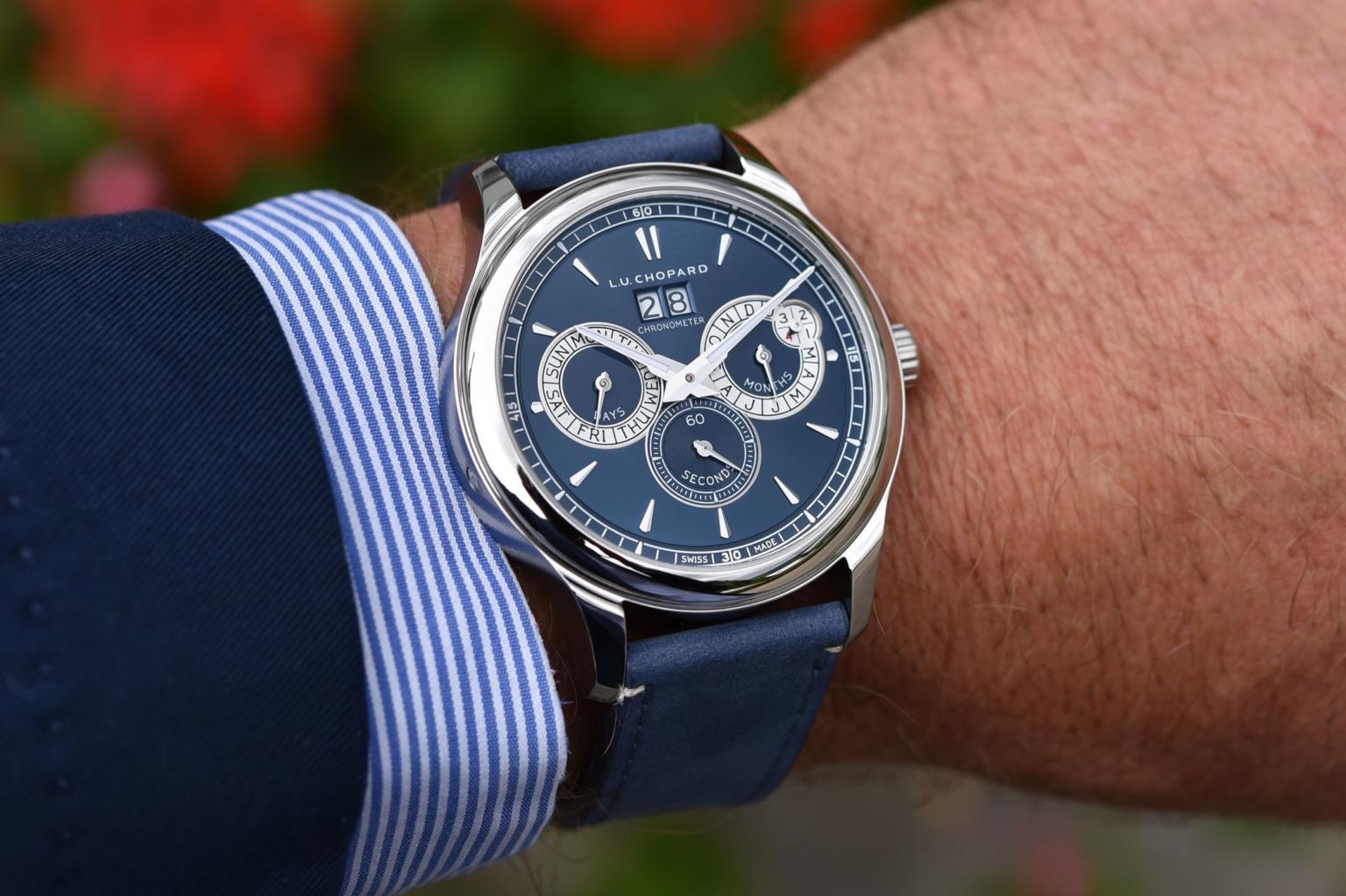 Giới thiệu đồng hồ Chopard LUC Perpetual Twin với vẻ ngoài hiện đại hơn