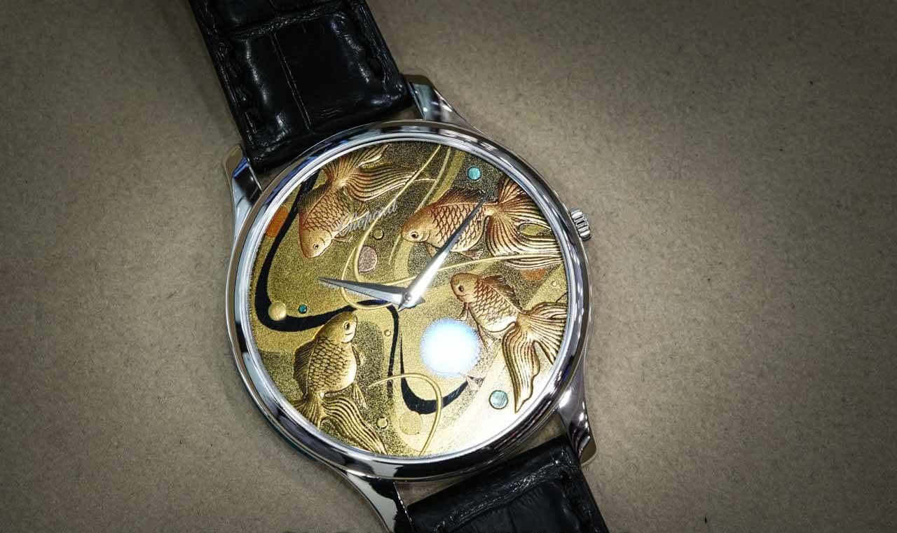 "Review đồng hồ Chopard 161920 ""L.U.C XP Urushi Goldfish"""