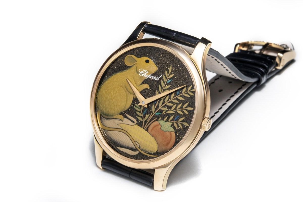 Top 8 mẫu đồng hồ mang hình chuột đặc sắc chào đón năm Canh Tý