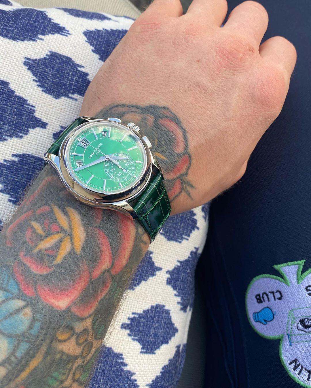 Giới thiệu đồng hồ Patek Philippe 5905P màu xanh lục tuyệt đẹp và hiếm thấy