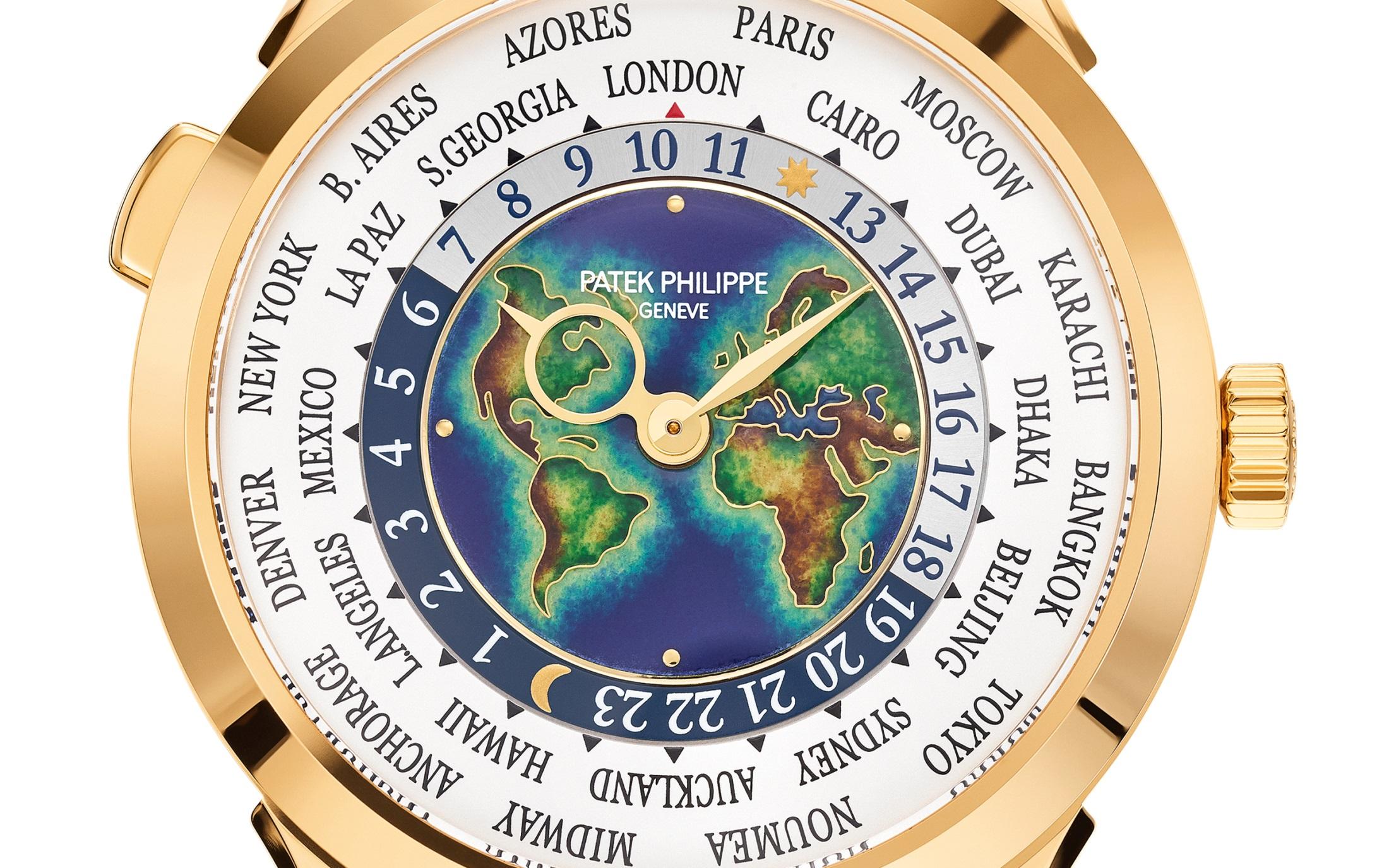 Giới thiệu đồng hồ Patek Philippe 5231J Cloisonné mặt số tráng men