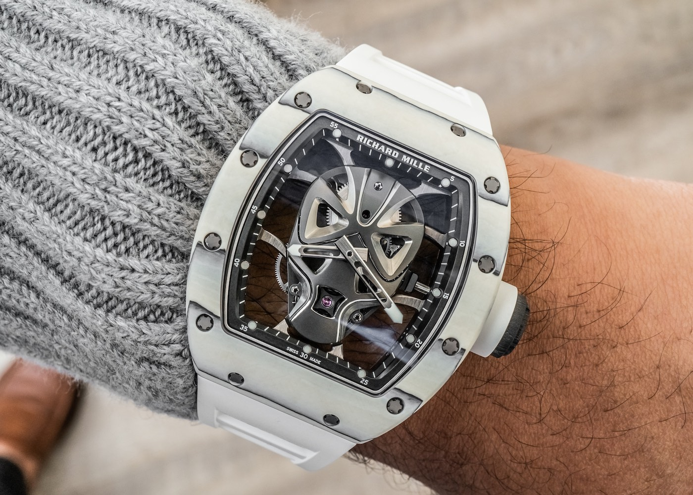 Review đồng hồ Richard Mille 700.000 USD: RM 52-06 Tourbillon