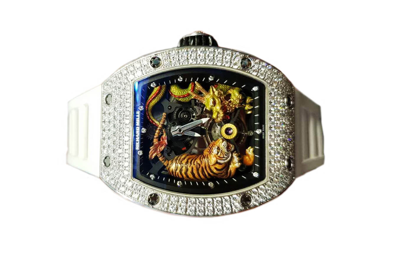 Đồng hồ Richard Mille RM 51-01 Tourbillon Tiger and Dragon - Michelle Yeoh