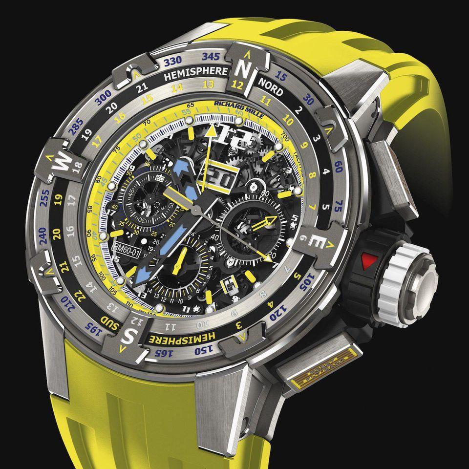 Richard Mille tung mẫu đồng hồ ấn tượng dành riêng cho giải đua thuyền Caribe