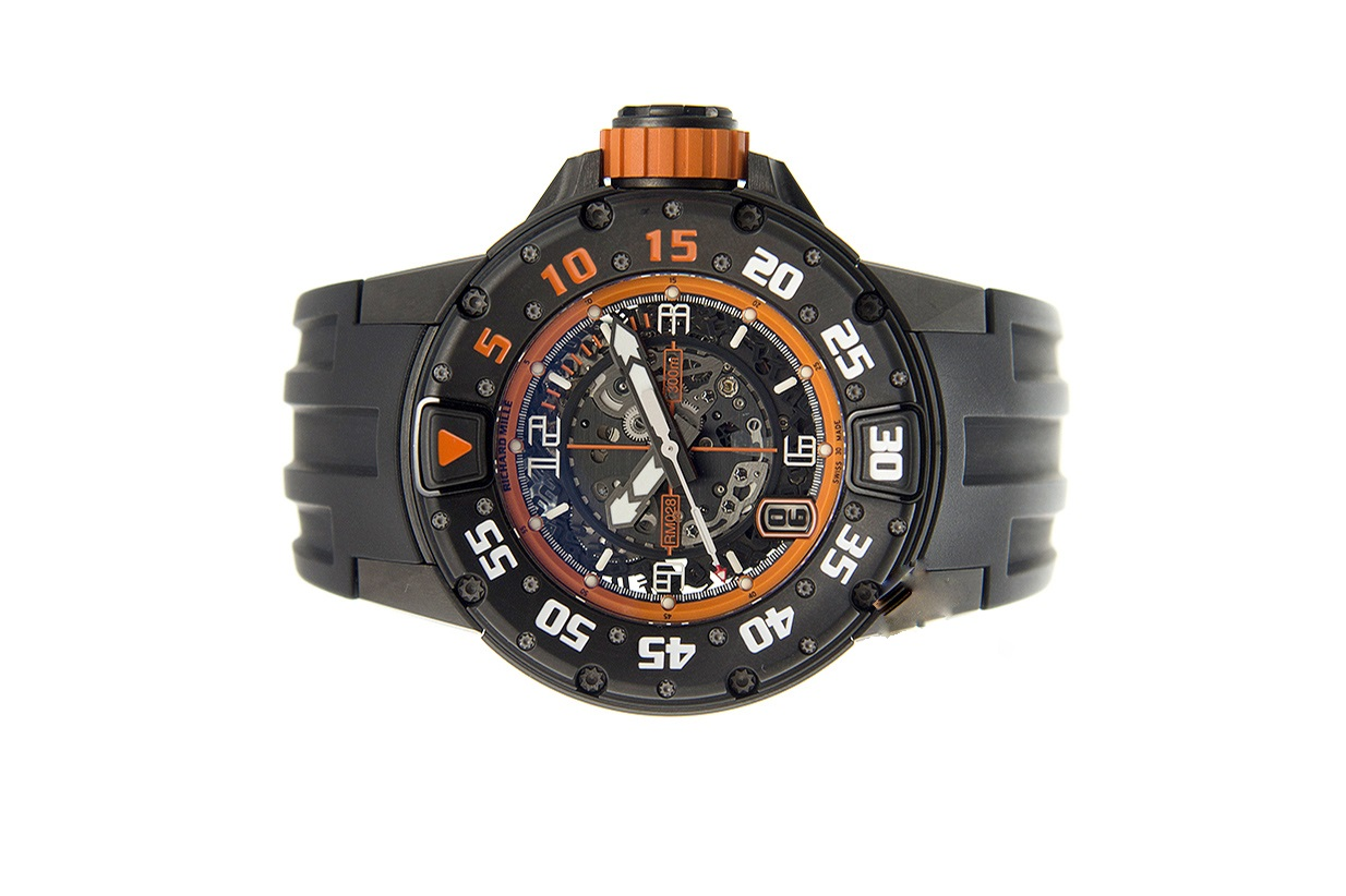 Khám phá đồng hồ Richard Mille RM028-AJTI vành Titanium đen