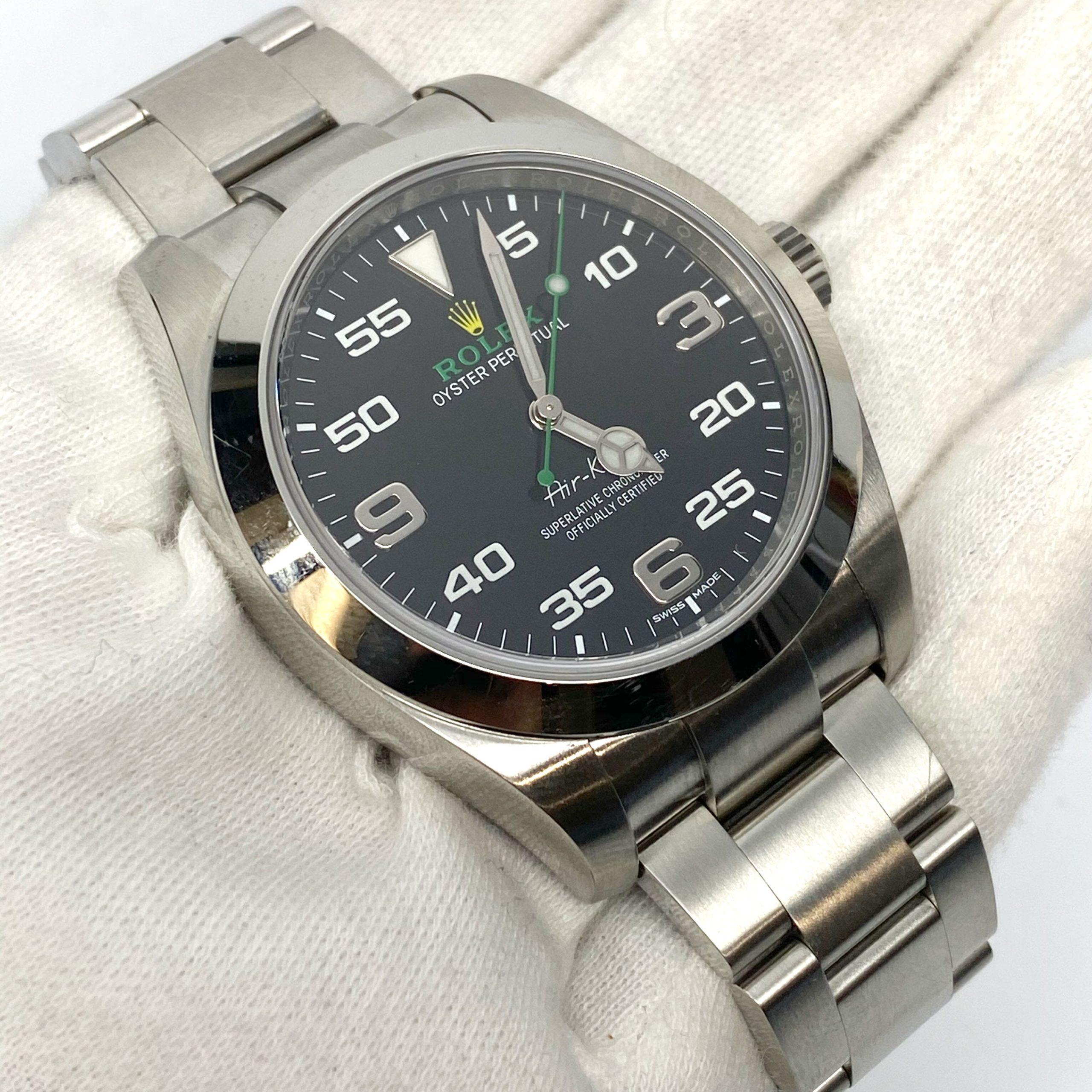 Review đầy đủ về phiên bản đồng hồ Rolex Air-King Ref 116900