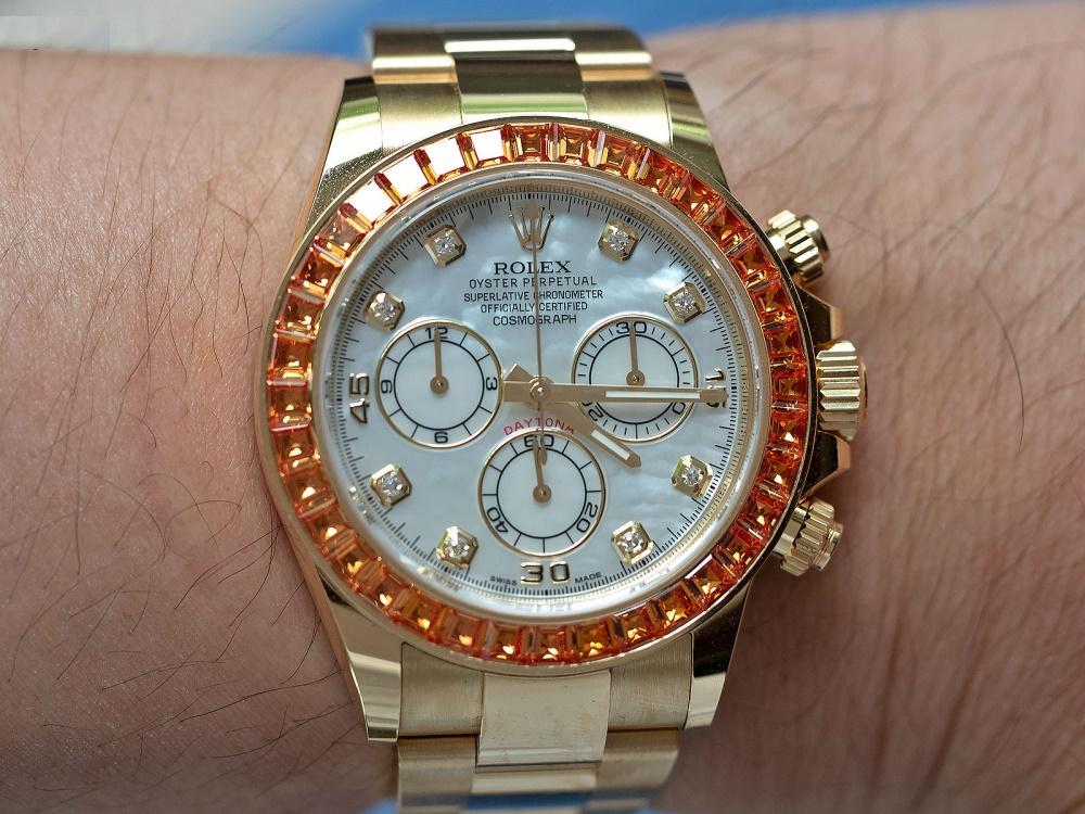Review SIÊU PHẨM đồng hồ phiên bản giới hạn: Rolex Daytona Ref.116578SACO
