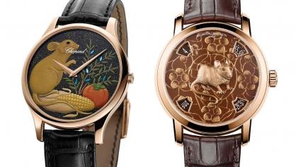 Điểm lại mẫu đồng hồ đặc biệt từ Vacheron Constantin và Chopard cho Tết Canh Tý 2020