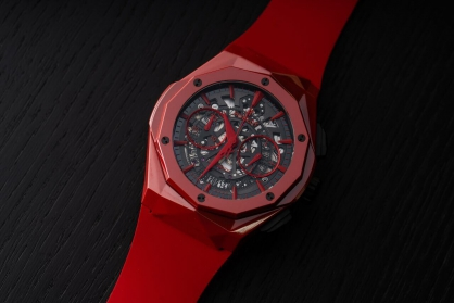 Đồng hồ Hublot Classic Fusion Aerofusion Chronograph Orlinski Red Ceramic