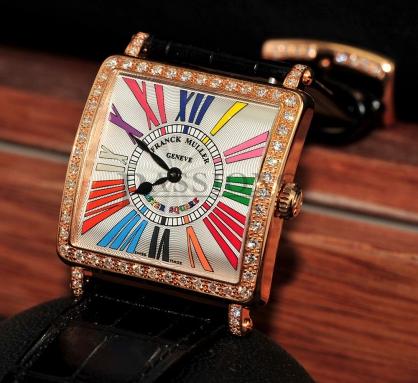 Đồng hồ Franck Muller Master Square 6002 MB QZ COL DRM MOP RD 1R (AC)
