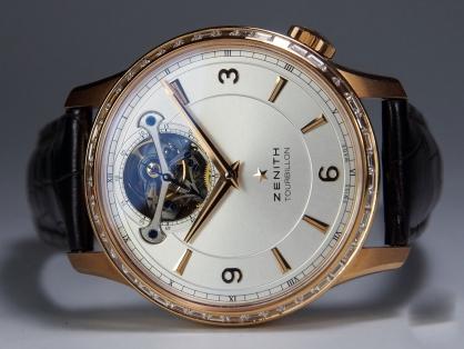 Giới thiệu siêu phẩm đồng hồ Zenith Captain Tourbillon