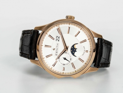 Đồng hồ Zenith Elite Captain Moonphase 18.2140.691/02.c498 vô cùng thanh lịch