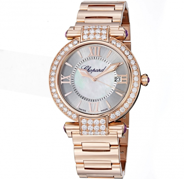 Review đồng hồ Chopard Imperiale Mother Of Pearl Diamond 384242-5004