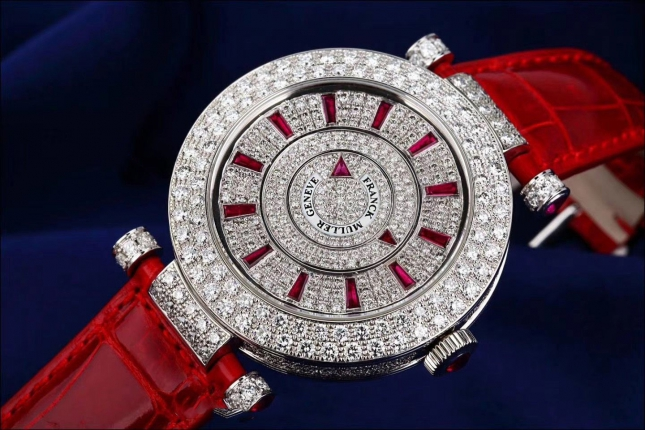 Review đồng hồ Franck Muller Double Mystery DM 42 D 1R CD (OG) ROUGE