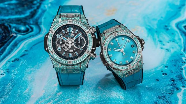 Hublot mang đá Paraíba quý hơn kim cương vào chế tác đồng hồ