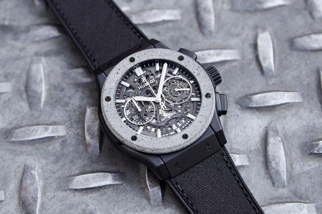 Giới thiệu đồng hồ Hublot Classic Fusion Aerofusion Chronograph Concrete Jungle