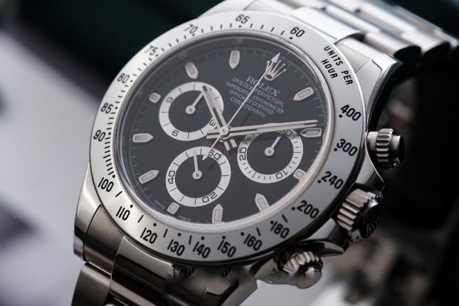 Chia sẻ chi tiết chiếc đồng hồ Rolex Daytona Panda Ref.116500LN