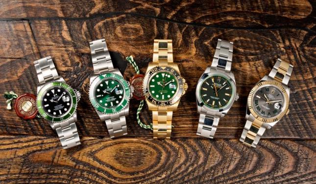 TOP 5 mẫu đồng hồ Rolex có tông màu xanh lá ấn tượng nhất
