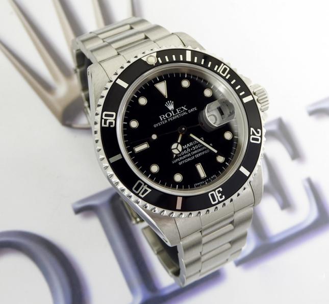 Giới thiệu mẫu đồng hồ lặn huyền thoại Rolex Submariner