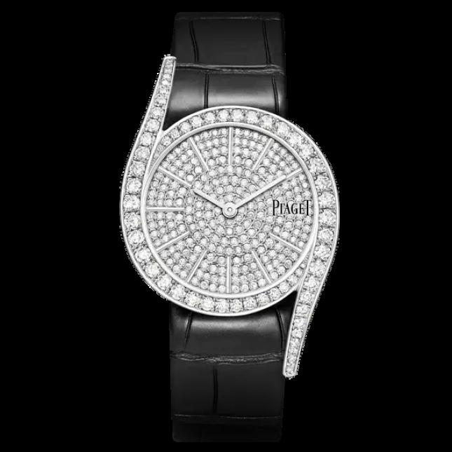 """2 mẫu đồng hồ Piaget mặt trắng đẳng cấp """"hút hồn"""" phái đẹp"""