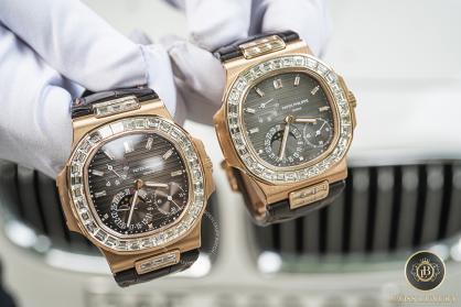 Bộ sưu tập đồng hồ Patek Philippe dây da cá sấu khiến ai cũng phải trầm trồ