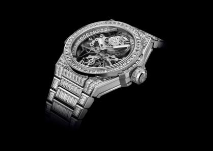 Hublot Big Bang Integral Tourbillon High Jewellery: Mãn nhãn thị giác và sự hài hòa về tỷ lệ tổng thể