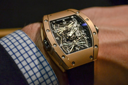 Review đồng hồ Richard Mille RM 022 Aerodyne Dual Time Zone