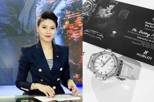 BTV Ngọc Trinh đấu giá đồng hồ Hublot để quyên góp máy thở cho thành phố Hồ Chí Minh