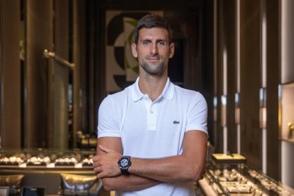 Novak Djokovic: Tân đại sứ và là niềm tự hào của thương hiệu Hublot