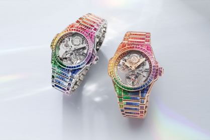 Hublot ra mắt đồng hồ Big Bang Integral Tourbillon Rainbow mới, đưa Cầu Vồng lên một cấp độ tiếp theo