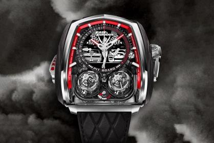 Jacob & Co. ra mắt mẫu đồng hồ độc nhất vô nhị kỉ niệm series phim Fast & Furious trị giá 580.000 USD