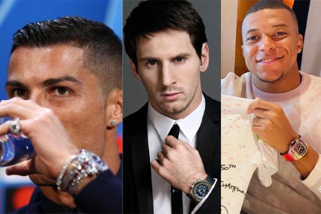 Khám phá đồng hồ đeo tay của các cầu thủ bóng đá nổi tiếng