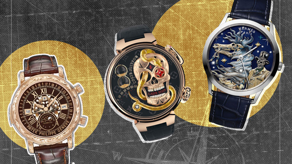 Những mẫu đồng hồ thủ công tuyệt đẹp và tinh xảo bậc nhất năm 2021