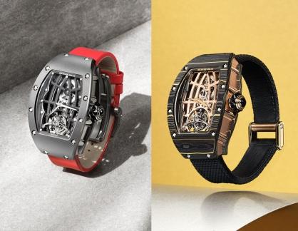 Richard Mille tiết lộ hai tuyệt phẩm thời gian mới RM 74-02 và RM 74-01